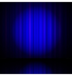 blue curtain from the theatre vector image