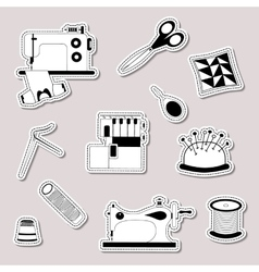 set of design element logo badge label vector image