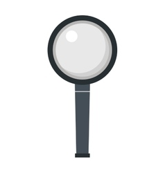 Magnifier search loupe icon vector image