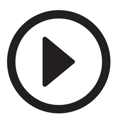 Play video button vector