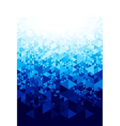 Abstract background with hexagons vector image