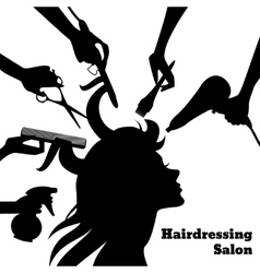 Beauty Salon Concept vector image
