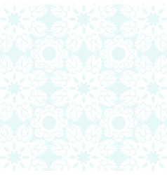 Pastel blue elegance seamless pattern vector image vector image