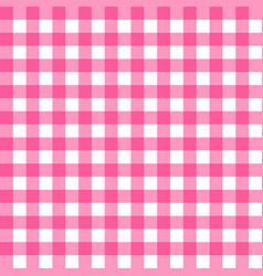 picnic table cloth seamless pattern pink picnic vector image