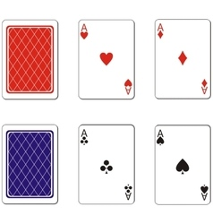 Playing card set 02 vector