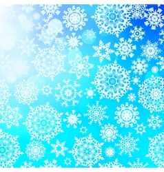 Seamless pattern with snowflakes EPS 10 vector image