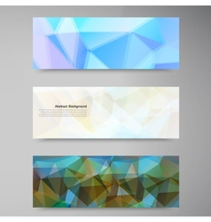 abstract background Polygonal pattern vector image vector image