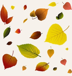 Autumn abstract floral background pattern vector