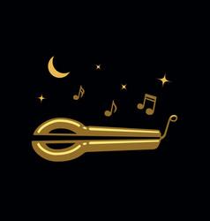Jews-harp vector