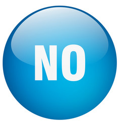 No blue round gel isolated push button vector