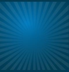 Sunburst blue rays pattern radial sunburst ray vector
