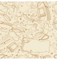 Turkey line art design vector image vector image