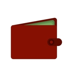 Shopping wallet bill consumerism icon vector
