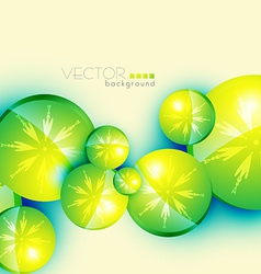 Circle shape background vector