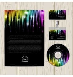Abstract glowing rainbow background eps10 vector