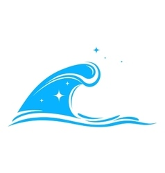 Blue big wave vector