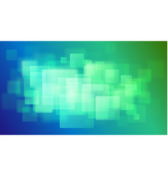 Abstract background of blurry squares vector