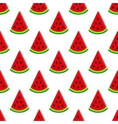 Water-melon on white seamless pattern vector
