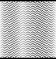 Zigzag Line Seamless Pattern vector image