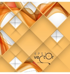 Abstract 3D Geometrical Design vector image vector image