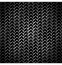Background with Seamless Black Carbon Texture vector image