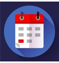 Calendar icon flat 20 vector