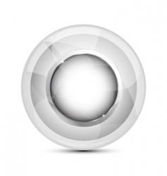 futuristic icon vector image