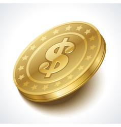 Money coin vector image