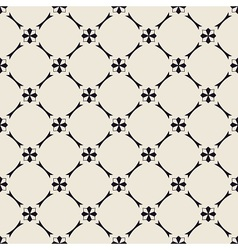 Seamless black-and-white pattern vector