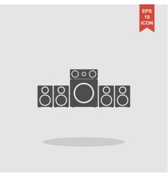 Speaker icon concept for vector image vector image