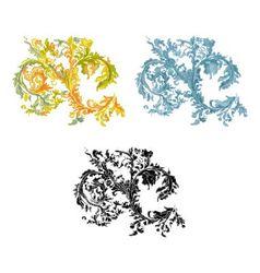 0rnament vintage decorative vector image