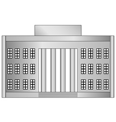 Building icon vector