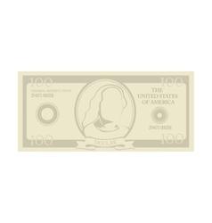 Bill money cash dollar vector