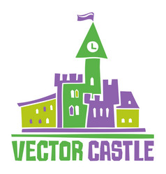 Castle sign vector