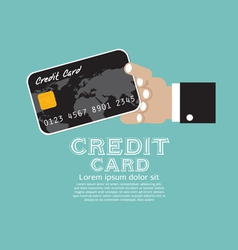Credit Card EPS10 vector image vector image