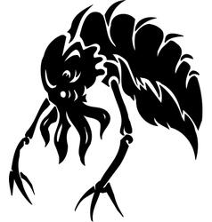 Sea Monster - Vinyl-ready vector image