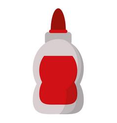 glue school supply design vector image