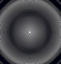 Moire pattern op art background relaxing hypnotic vector