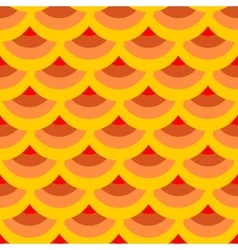 Half-round geometric seamless pattern 4708 vector image vector image