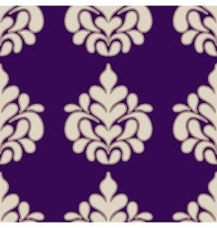 Seamless with vintage pattern vector