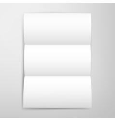 Blank brochure template vector