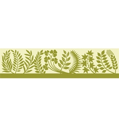 collection of leaf silhouettes-collection leaves vector image