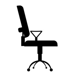 Office chair simple icon vector image vector image