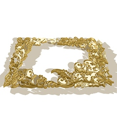 Ornaments frame vector