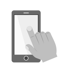 Touch Device II vector image vector image