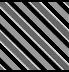 Tile pattern with black white and grey stripes vector