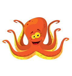 Big octopus vector