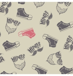 Sneakers fashion background vector