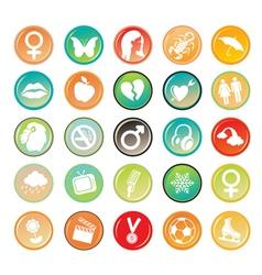 generic symbols vector image