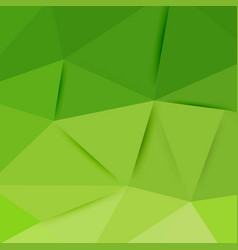 abstract green graphic art vector image